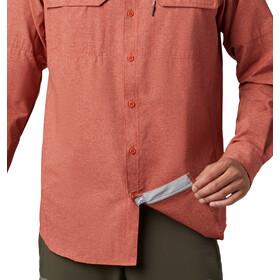 Columbia Irico Long Sleeve Shirt Men carnelian red